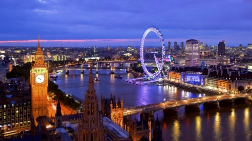 Photo of London Eye From The View of Parliament