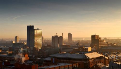 Photo of Leicester Skyline at Dusk